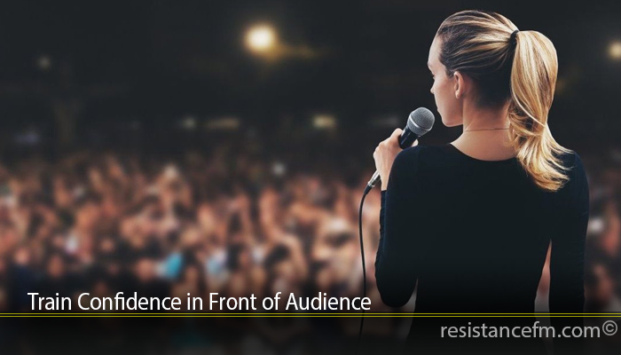 Train Confidence in Front of Audience